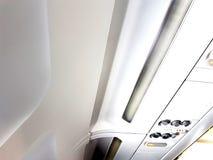 Tak för flygplankabin Arkivbild