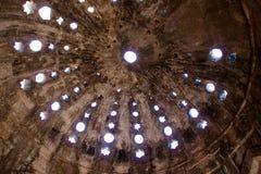 Tak för Hammam badhus, Mandu Royaltyfria Foton