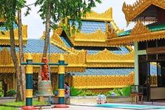 Tak för Kyauk Taw Gyi pagod` s, Yangon, Myanmar Royaltyfri Fotografi