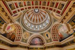 Tak för Pennsylvania capitolrotunda Arkivfoton