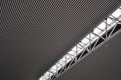 Tak 2 för stålstruktur Arkivbilder