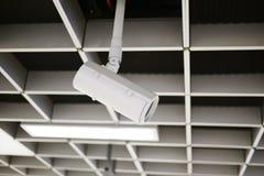 Tak för vägg för CCTV-säkerhetskamera Royaltyfri Fotografi