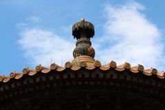 Tak Forbidden City. Royaltyfria Foton
