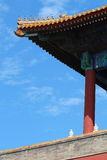 Tak Forbidden City. Royaltyfri Foto