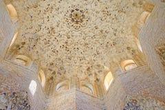 Tak i Alhambraen Royaltyfri Foto