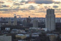 Tak i Moskva Fotografering för Bildbyråer