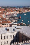 Tak i Venedig, Italien Royaltyfria Foton
