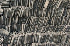 tak staplade tilings Arkivbild