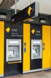Tak van Commonwealth Bank van Australië stock foto's