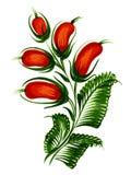 Tak van een tot bloei komende boom Royalty-vrije Stock Fotografie