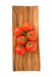 Tak van rijpe tomaten Royalty-vrije Stock Fotografie