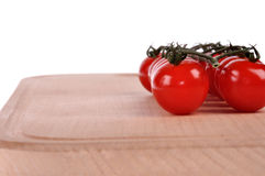 Tak van tomaten royalty-vrije stock afbeelding