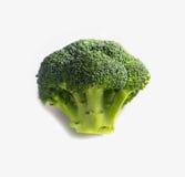 Tak van verse smakelijke groene broccolikool De foto schildert br af Royalty-vrije Stock Foto