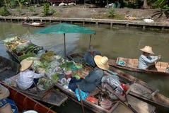 Taka floating market. Stock Photos