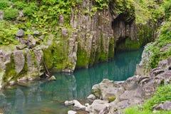 Takachiho gorge stock image