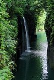 Takachiho gorge Royalty Free Stock Photography