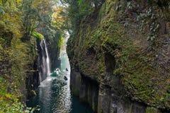 Takachiho gorge at Miyazaki Stock Photos