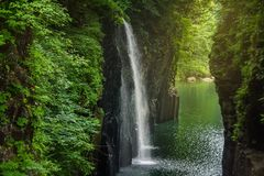 Takachiho gorge Stock Photography