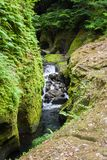 Takachiho gorge stock photo