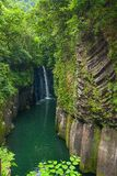 Takachiho gorge stock images