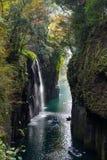 Takachiho gorge at Miyazaki of Japan royalty free stock images