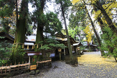 Takachiho Shrine Royalty Free Stock Photography