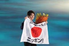 Takahiko Kozuka Stockfotos