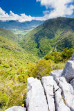 Takaka hill limestone outcrops, Takaka valley, NZ Stock Photo