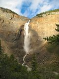 Takakkaw Falls 1. Amazing Takakkaw Falls in the evening light Royalty Free Stock Images