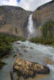 Takakkaw Falls. The glacier-fed Yoho River tumbles over Takakkaw Falls in Yoho National Park, British Columbia Royalty Free Stock Images