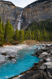 Takakkaw Falls Royalty Free Stock Photos