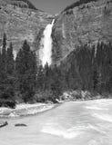 Takakkaw falls in British Columbia. Canada Stock Photo