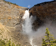 Takakkaw Falls, Canadas second highest waterfall Stock Photography