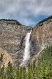Takakkaw Falls in Canadian Rockies Stock Photo