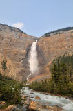 Takakkaw Falls in Yoho National Park Royalty Free Stock Photo