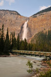 Takakkaw Falls in Yoho National Park Stock Image