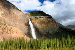 Takakkaw Falls - Yoho National Park Royalty Free Stock Photo