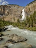 Takakkaw Falls in Yoho National Park Stock Images