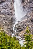 Takakkaw Falls in Yoho National Park, British Columbia, Canada royalty free stock images
