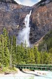 Takakkaw Falls in Yoho National Park, British Columbia, Canada royalty free stock image
