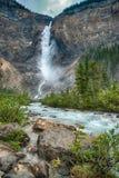 Takakkaw Falls, Yoho National Park. Takakkaw Falls near Field British Columbia Canada Stock Photos