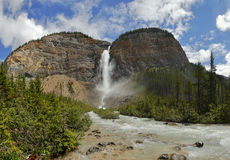 Takakkaw Falls in Yoho National Park Stock Photo