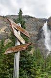 Takakkaw waterfall Stock Image