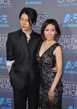 Takamasa Ishihara & Melody Miyuki Ishikawa Stock Photography