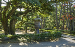 Takamatsu castle park, Japan Royalty Free Stock Photography