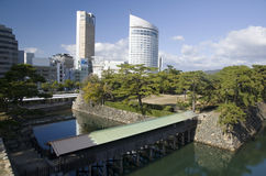 Takamatsu old and new, Japan Stock Images