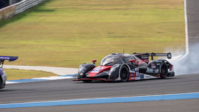 Takamitsu Matsui de l'équipe AAI des séries de Le Mans d'Asiatique - course à 2 Photos stock