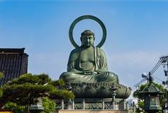 Takaoka Grote Boedha of Daibutsu stock foto