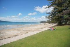 Takapuna plaża Zdjęcia Royalty Free
