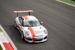 Takashi Kasai Porsche Carrera kopp 2015 på Monza Arkivbilder